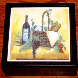 Set of Coasters – w/storage box   #MG-7677