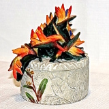 Trinket Box – Bird-of-Paradise    #G-94