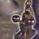 Candle Holder – Horus  #69471-BZ