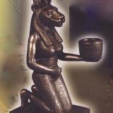 Candle Holder – Sekhmet   #69475-BZ