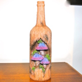 Incense Burner – Bottle Tree Mushrooms  #25186
