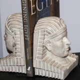 Bookends – head of a Pharaoh – #S-2301
