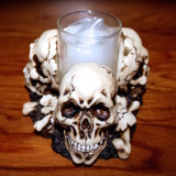 Skull x 3 – Votive   #WT-0033