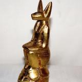 Anubis on a Scarab  #E-9467