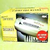 Personal Security Shredder   #1753000