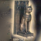 Bast Bookend – Bronze   #68642-BZ