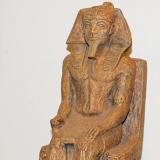 Pharaoh sitting on throne  #ES-8654