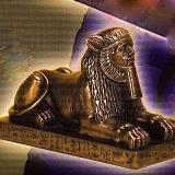 Sphinx of Amenemhet III  #68078-BZ