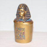 Trinket Box – a Pharaonic Head  #7325