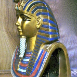 Tut's Death Mask – mounted on a base  #2955