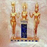 Trinity of Isis, Osiris-Osorkon II and Horus  #67955