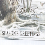 Christmas Card – for Father   #850