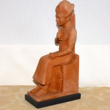Rameses II – on a throne.  #RA-22
